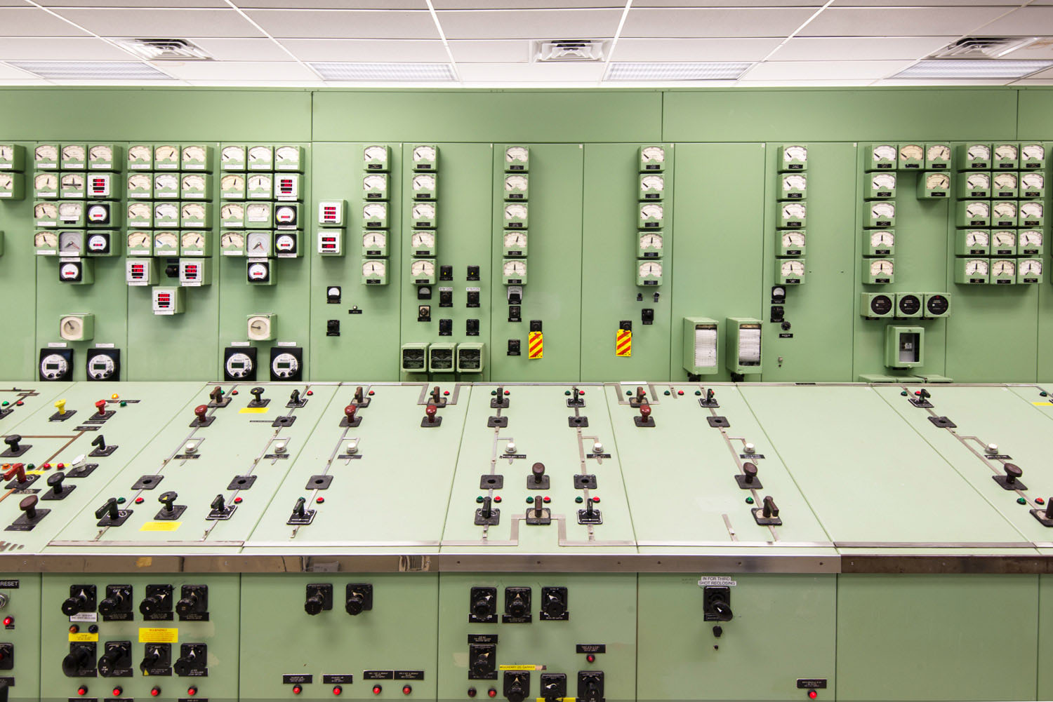 Norris Dam Control Room, Andersonville, Tennessee, 2010