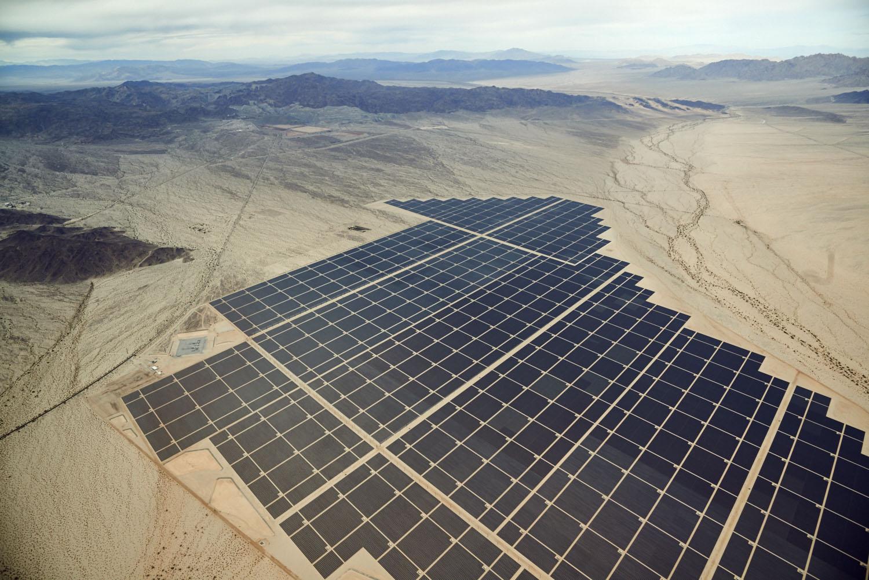Desert Sunlight Solar Farm, Mojave, CA, 2016