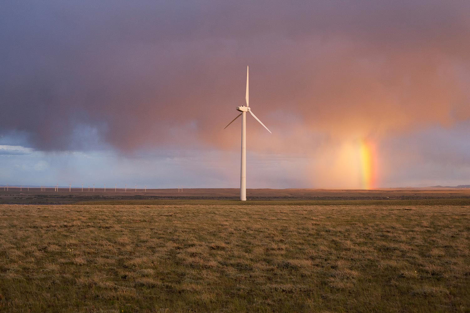Foot Creek Wind Project, Carbon County, Wyoming, 2011