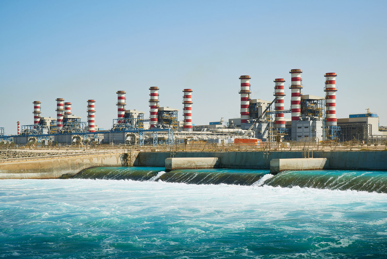 Jebel Ali Desalination Plant, Dubai, United Arab Emirates, 2014