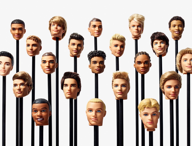 Ken Dolls, Mattel Headquarters, El Segundo, California, 2017