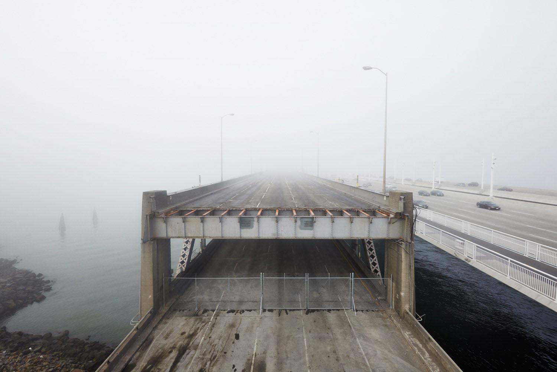 The Original Bay Bridge, Oakland, California, 2013