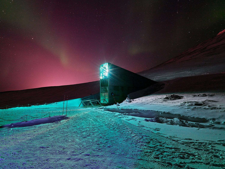 Svalbard Global Seed Vault, Spitsbergen Island, Norway, 2017