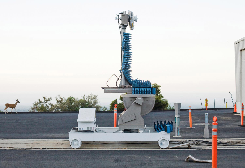Radar Testing Facility, NASA/JPL, Pasadena, California, 2008