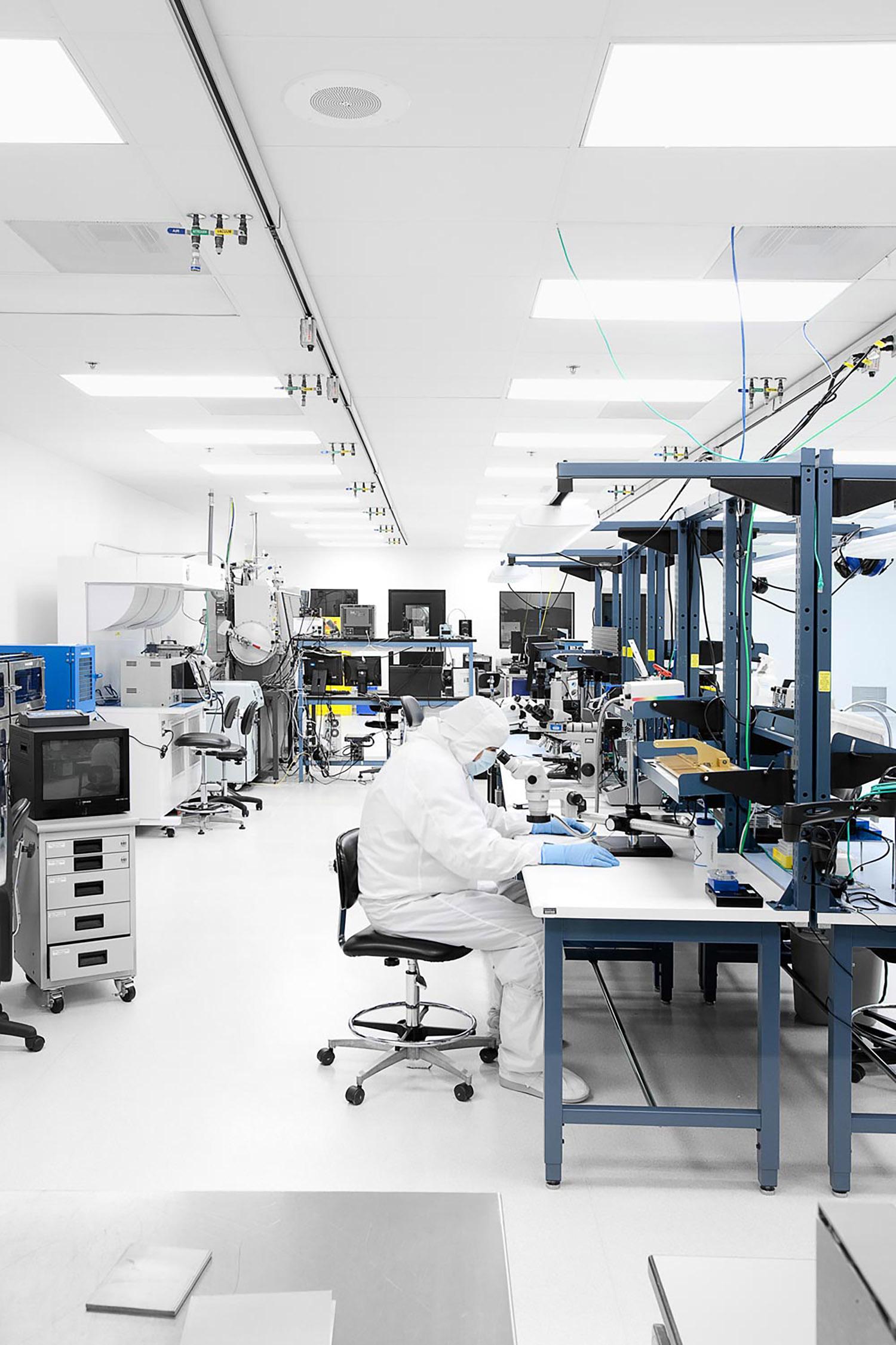 Argus II Retinal Implant Lab, Second Sight, Sylmar, California, 2010