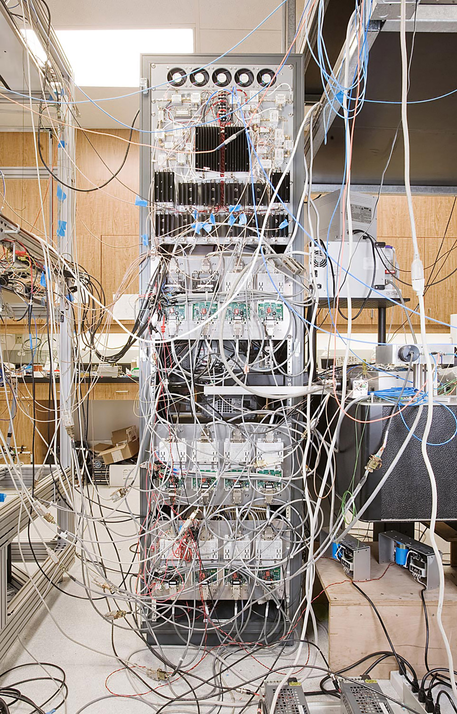 Quantum Lab, NASA/JPL, Pasadena, California, 2008