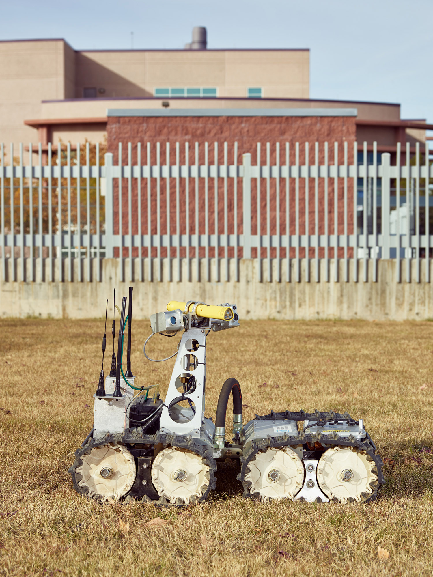 Gemini-Scout Mine Rescue Robot, Department of Energy, Sandia National Laboratories, Albuquerque, New Mexico, 2017