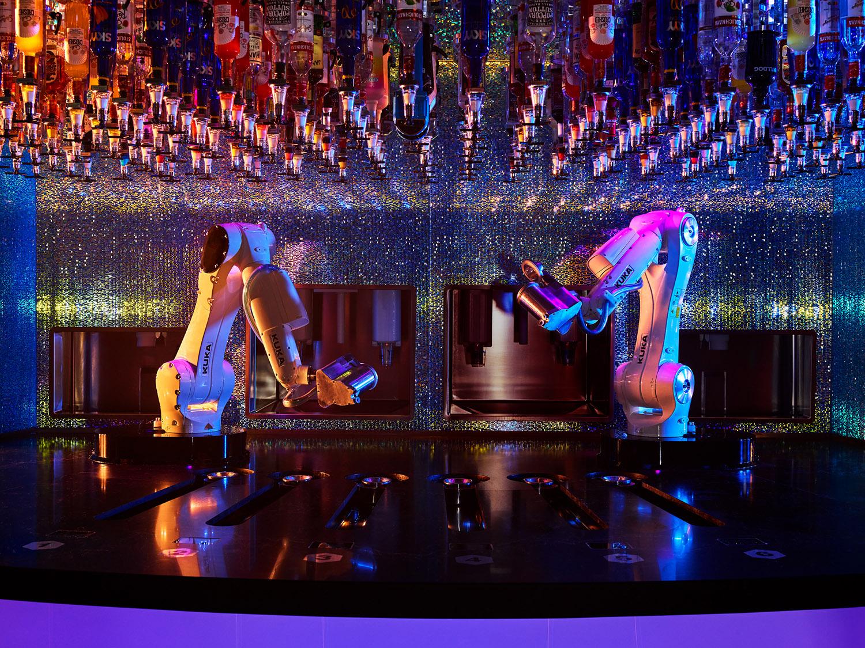Makr Shakr Robo-Bartenders, Las Vegas, Nevada, 2017