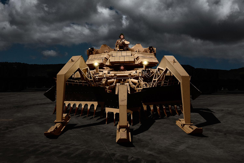 Assault Breacher Vehicle, Marine Corps Base Camp Pendleton, California, 2010