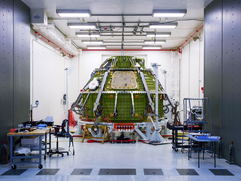 Orion Crew Module, Kennedy Space Center, Florida, 2016