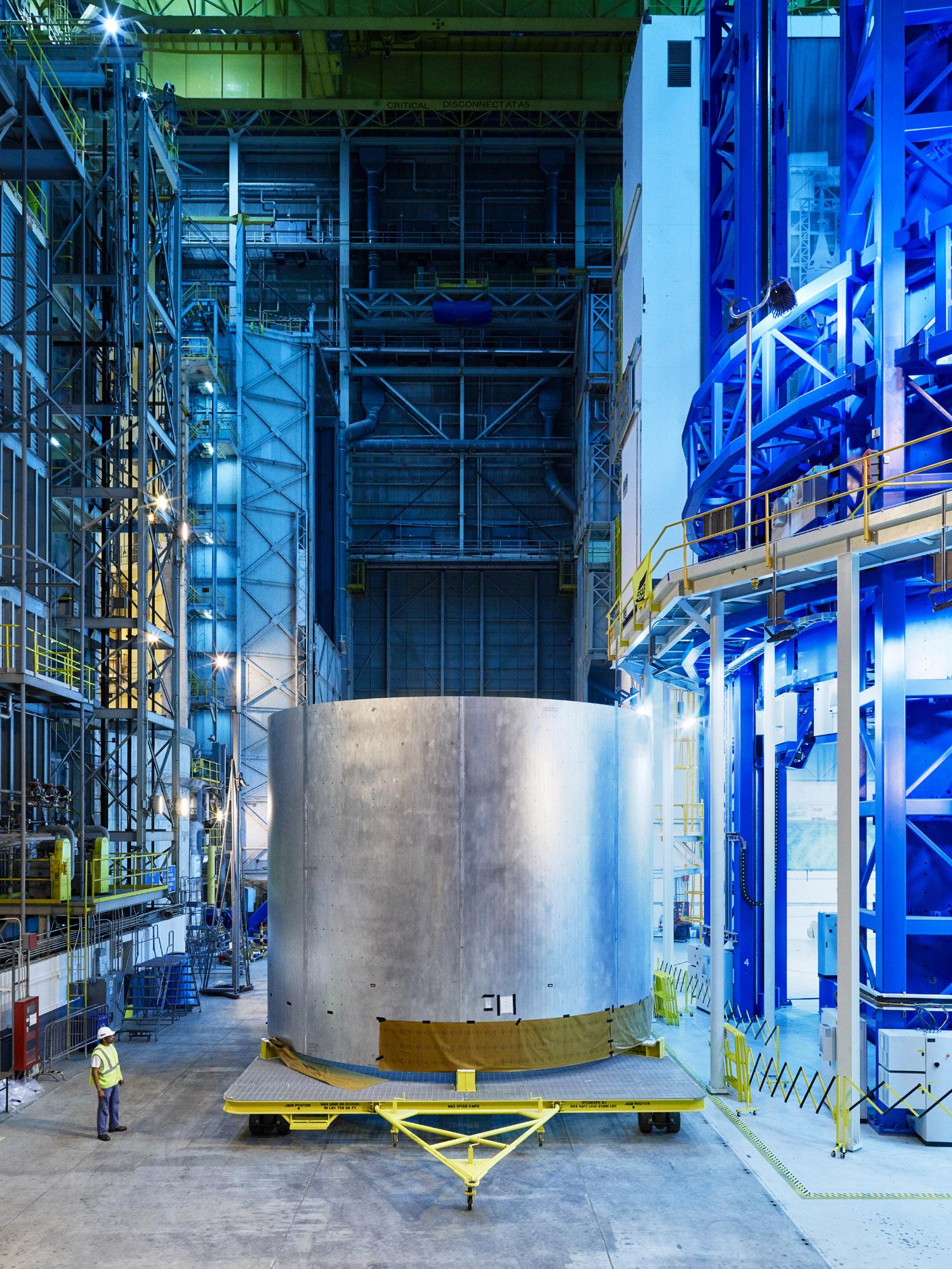 SLS Rocket Hydrogen Tank, NASA Michoud Assembly Facility, New Orleans, Louisiana, 2016