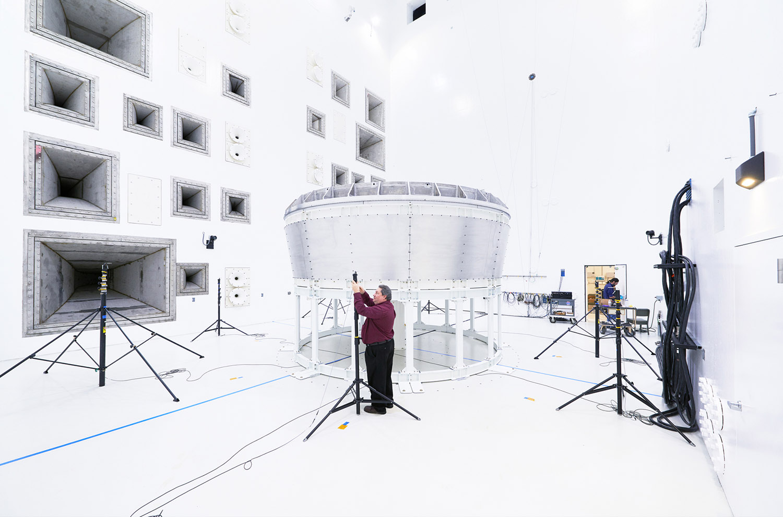 Acoustic Chamber at NASA Glenn Research Center, Sandusky, Ohio, 2016