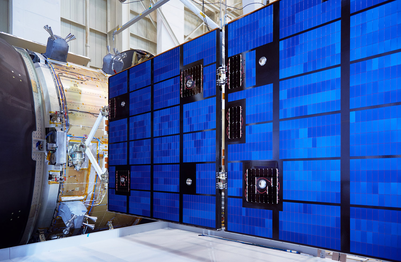 Orion Crew Module Solar Panel Mockup, NASA Glen Research Center, Sandusky, Ohio, 2016