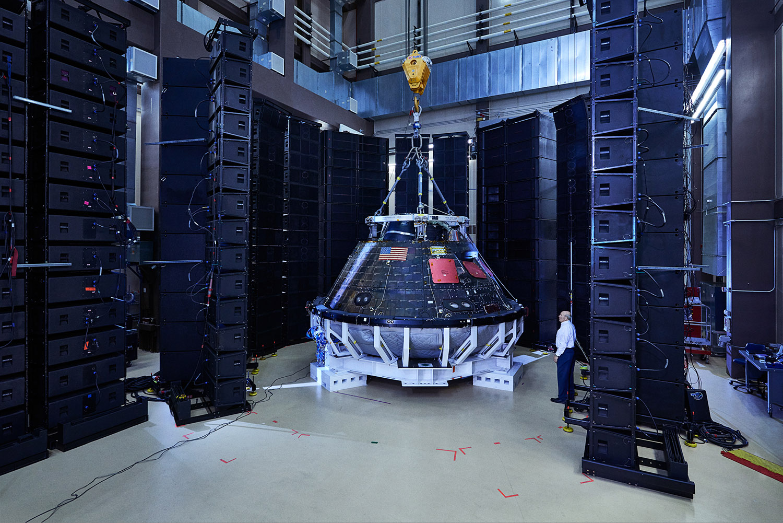 Orion Crew Module, Lockheed Martin, Littleton, Colorado, 2016