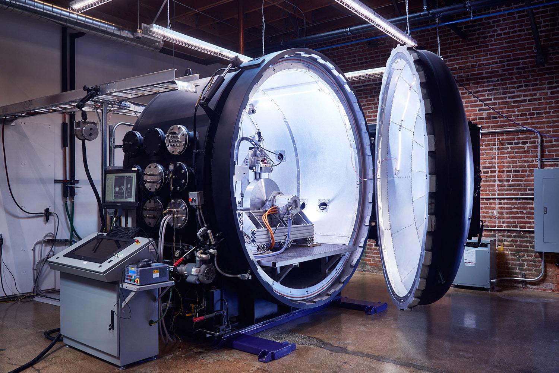 Hyperloop One Levitation Rig, Los Angeles, California, 2015