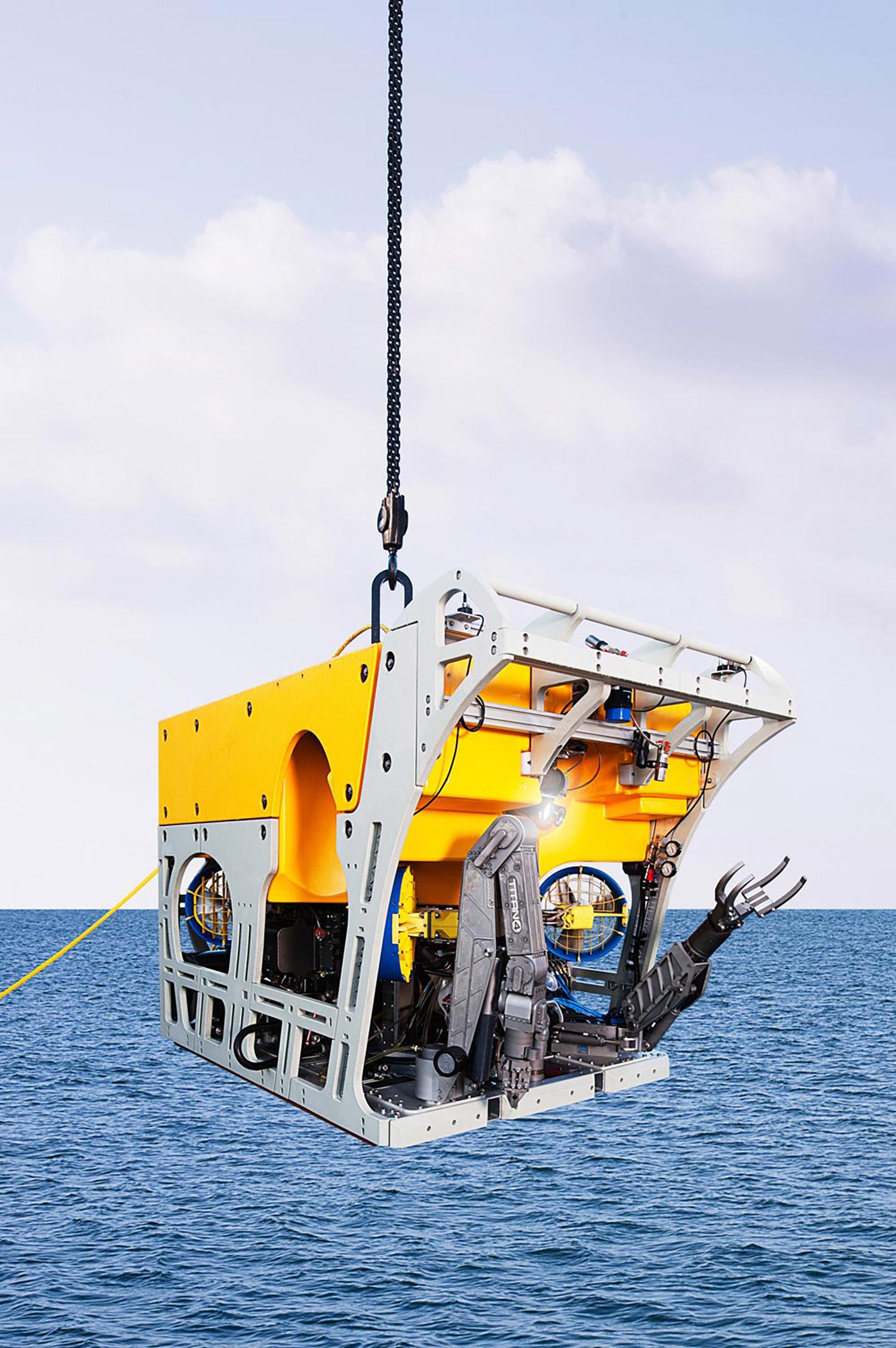 Schilling Robotics, Subsea ROV, Davis, California, 2011