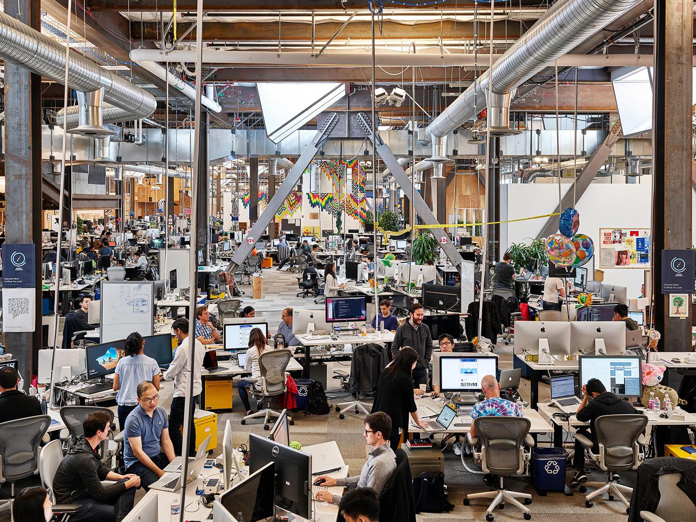 Facebook Headquarters, Menlo Park, California, 2017