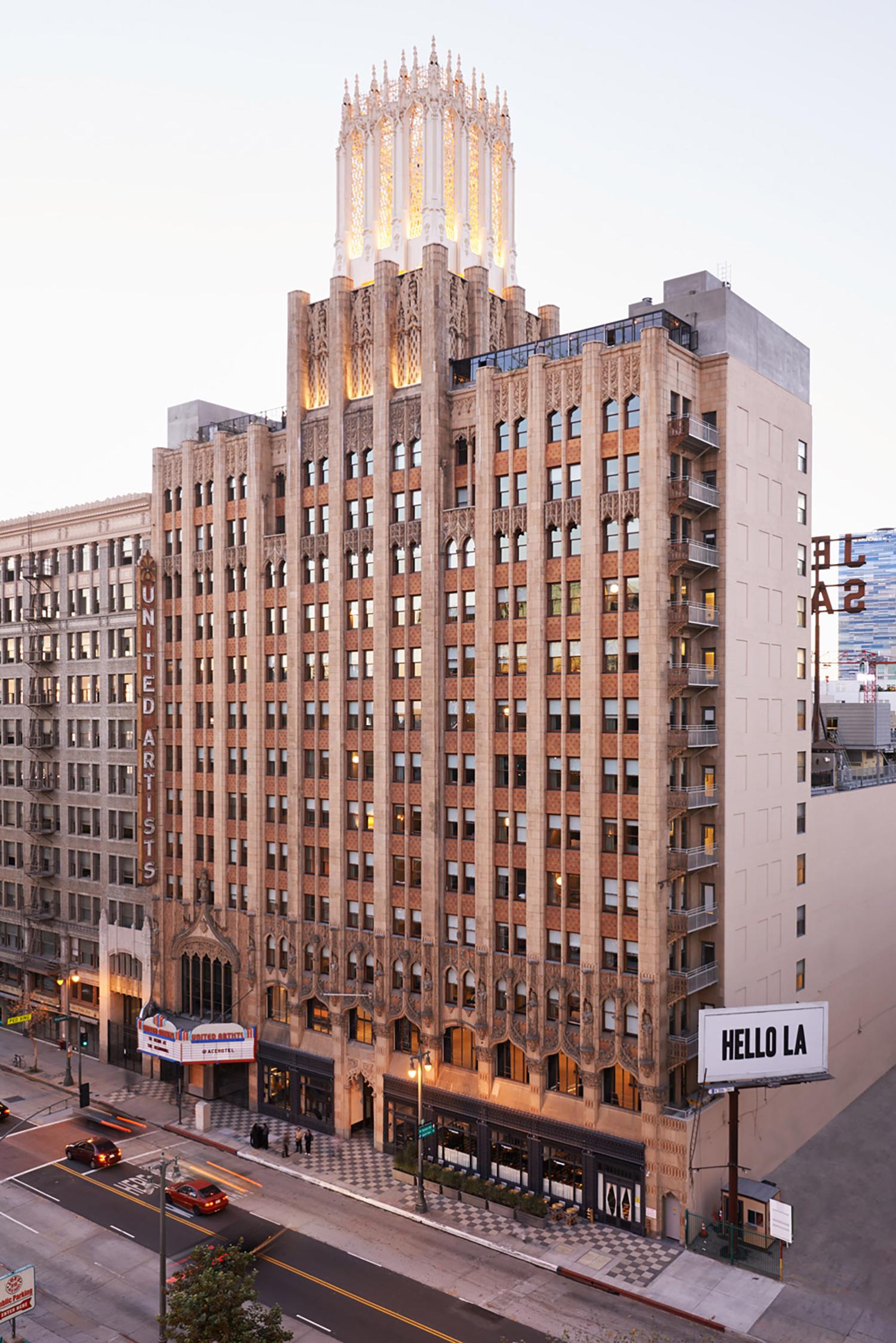 Ace Hotel, Los Angeles, California, 2014