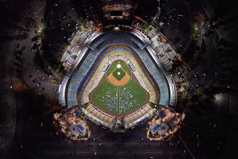 Dodger Stadium, Los Angeles, California, 2014