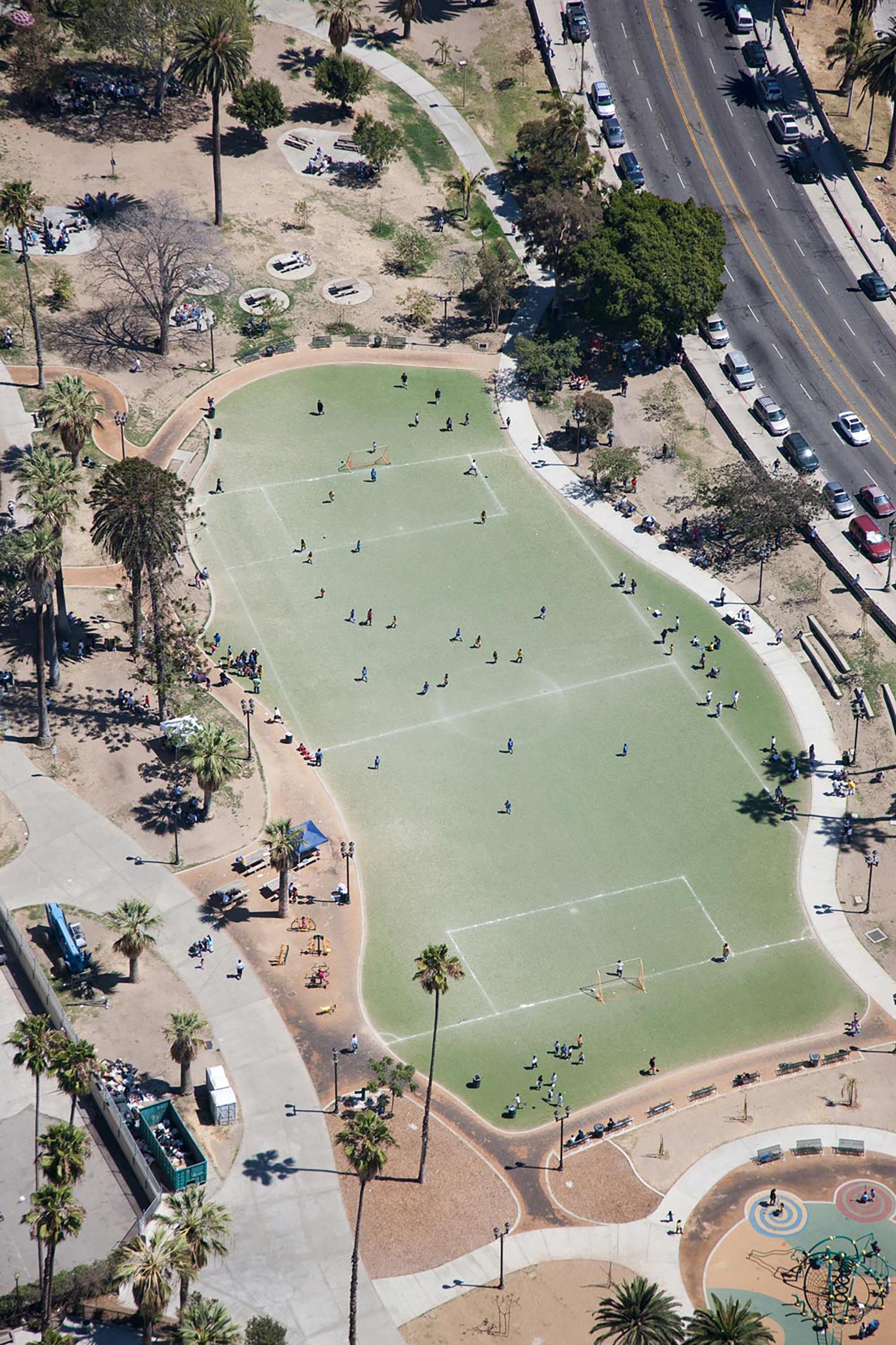 MacArthur Park, Los Angeles, California, 2011