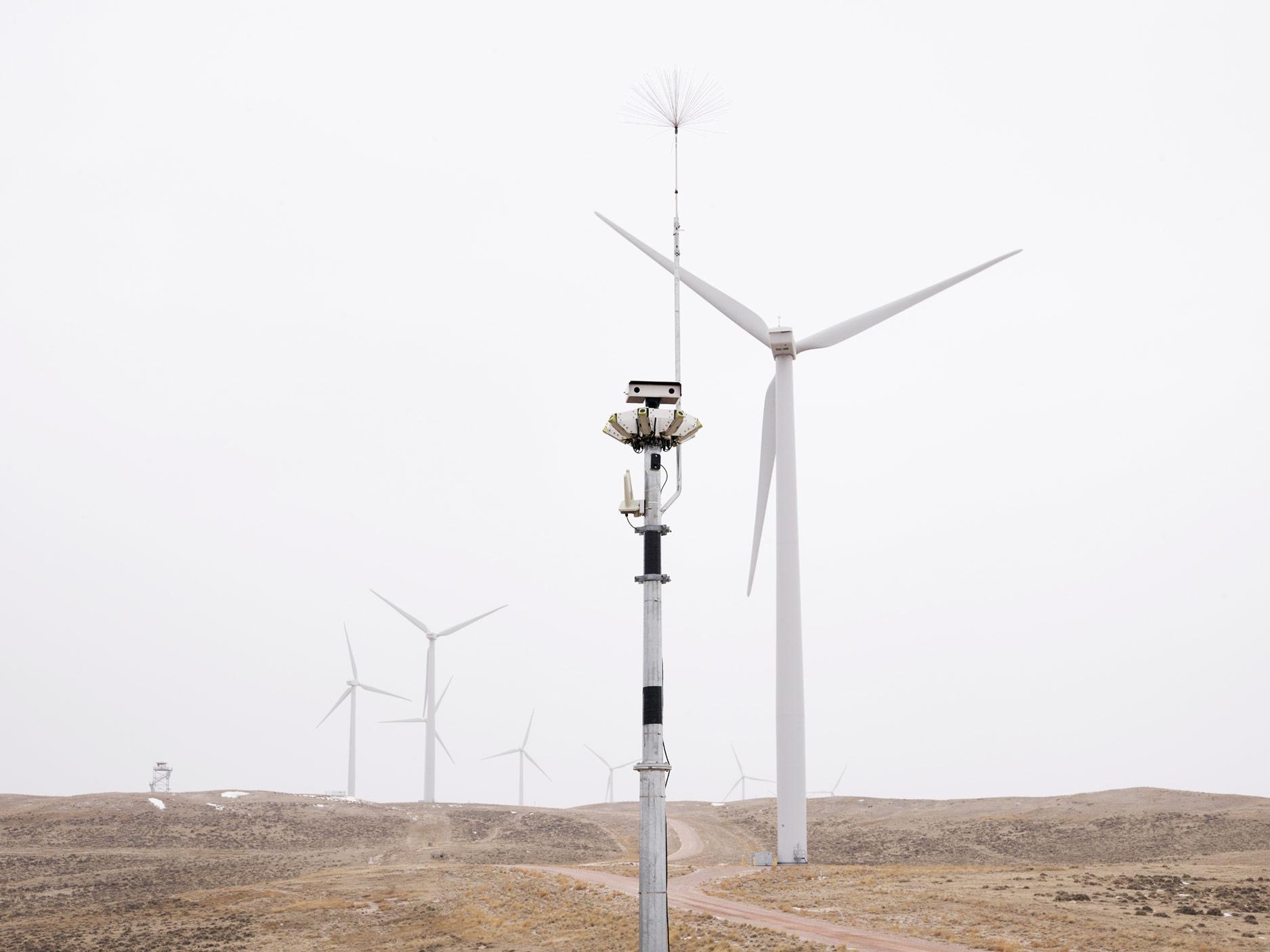 IdentiFlight Raptor Scanner, Top of the World Wind Farm, Casper, Wyoming, 2018