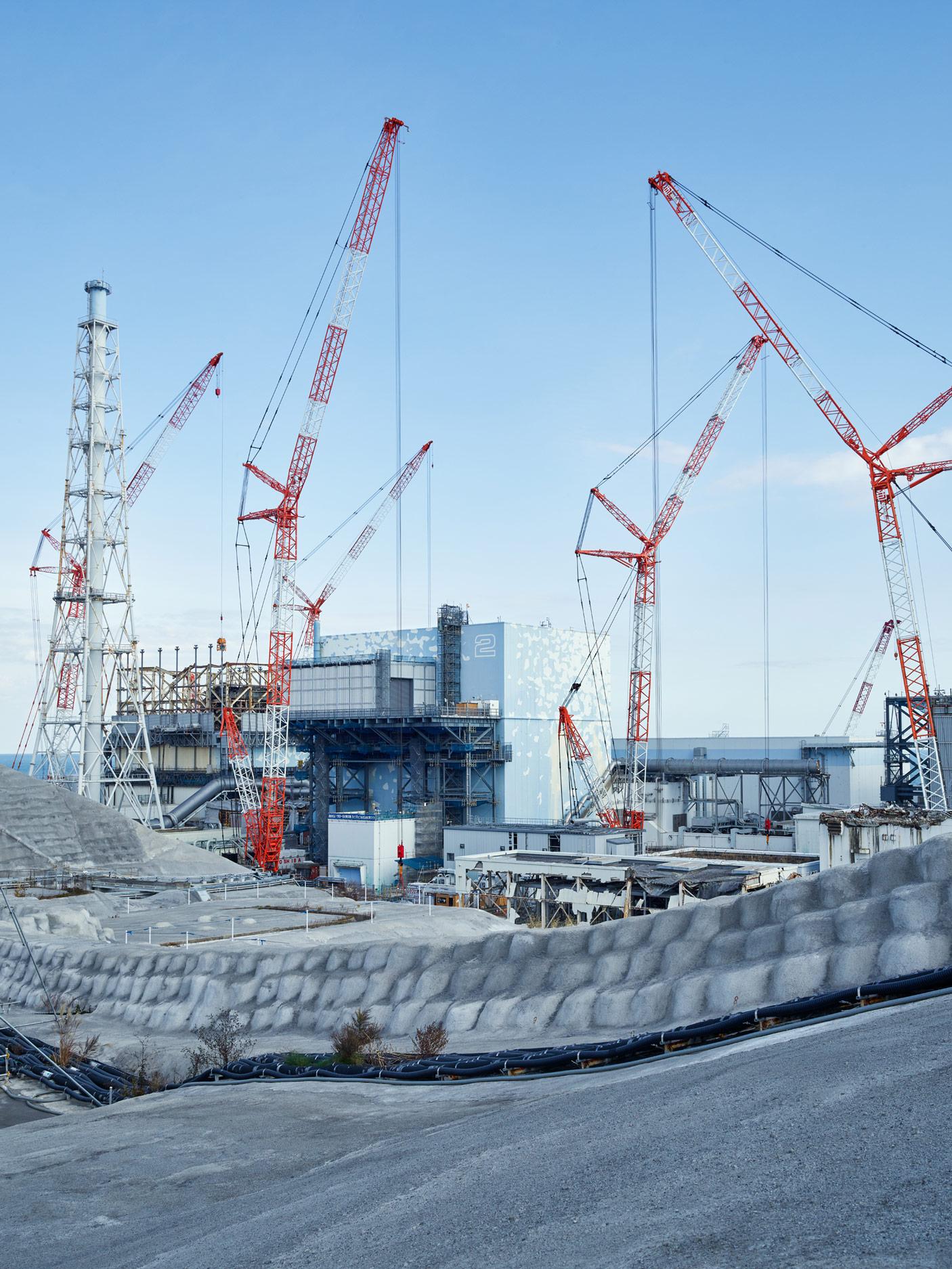 Units 1 and 2, Fukushima Daiichi Nuclear Power Plant, Japan, 2017