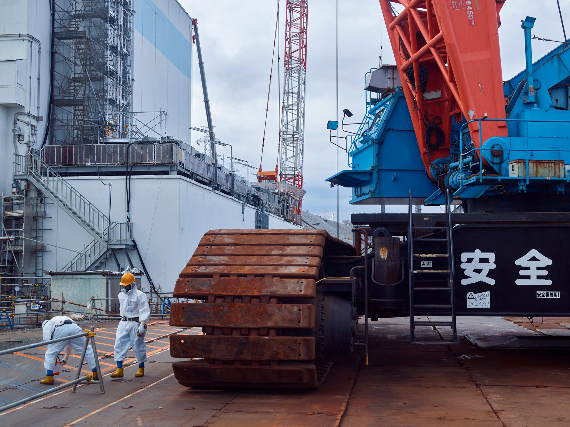 Unit 1 Turbine Building, Fukushima Daiichi Nuclear Power Plant, Japan, 2017