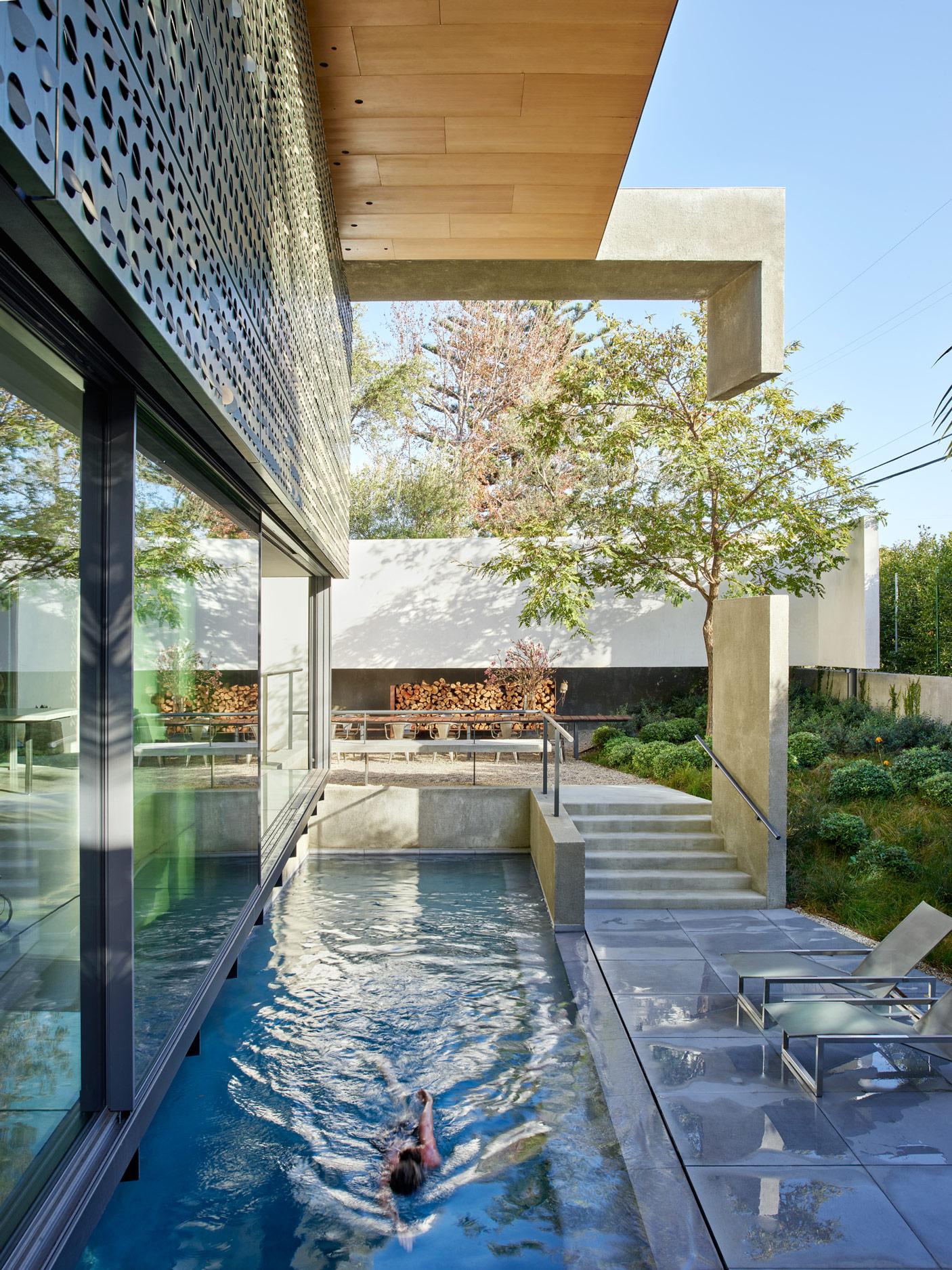 Thomas Mayne Home, Cheviot Hills, California, 2018