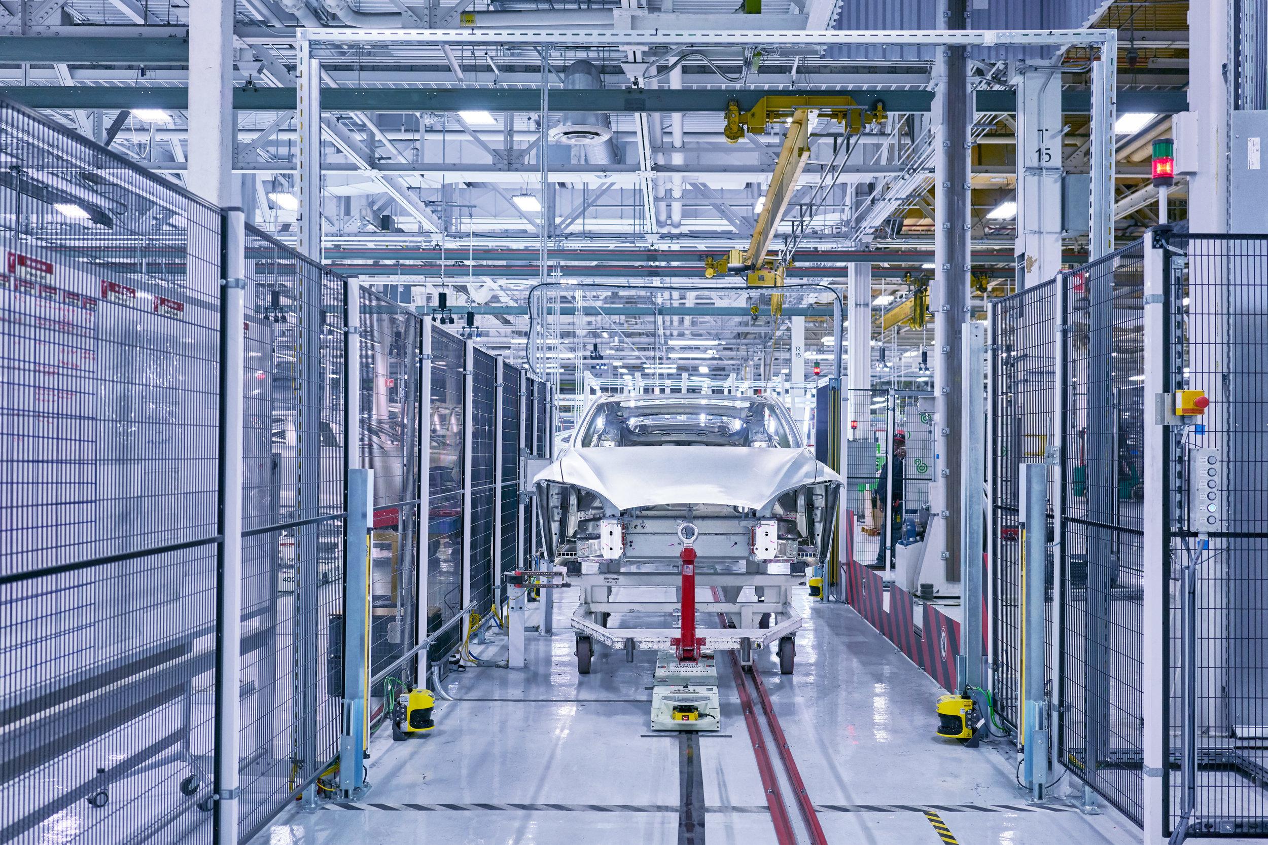 Tesla Factory, Fremont, California, 2016