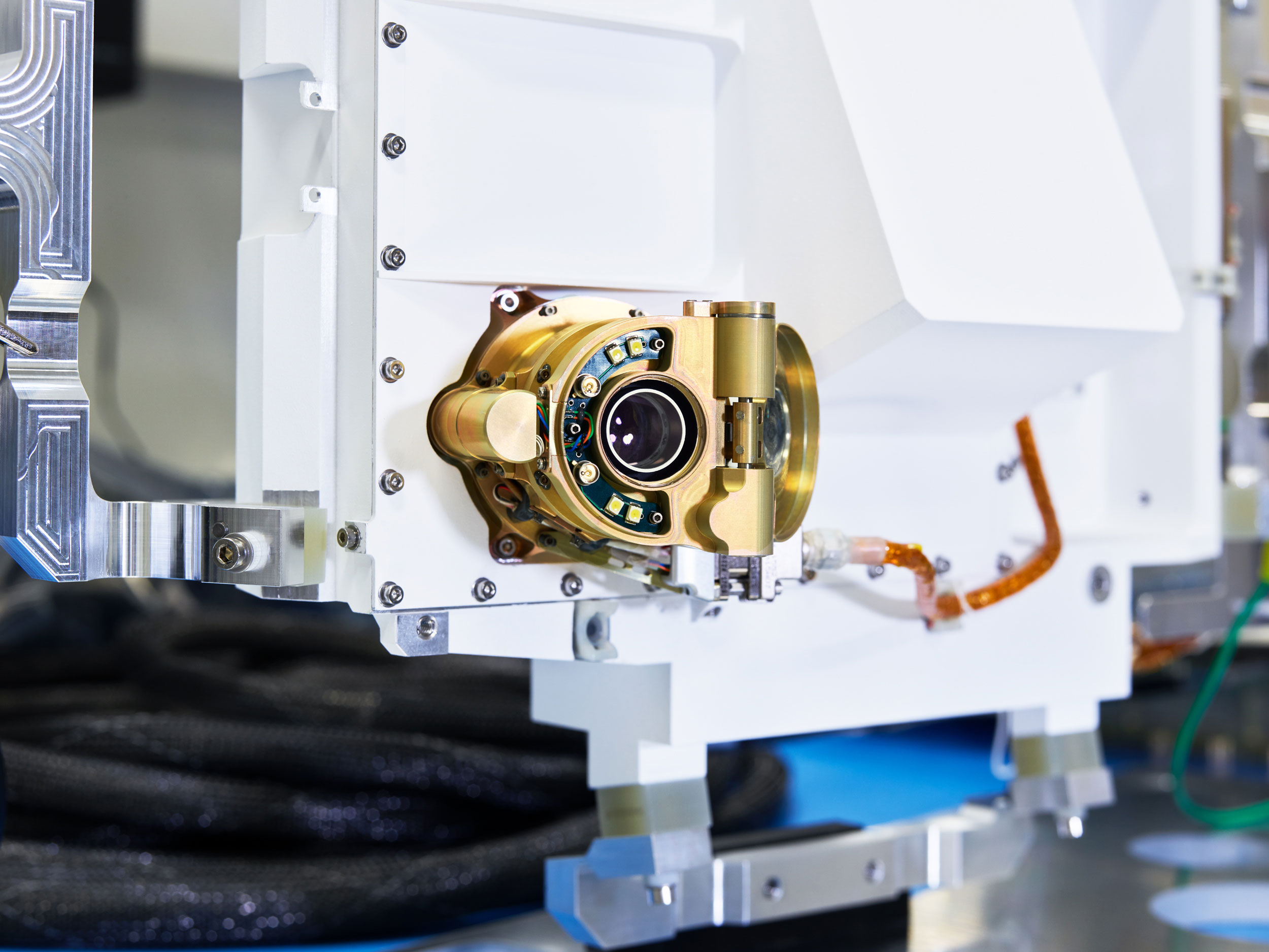 Mars 2020 SHERLOC Instrument Engineering Model, NASA/JPL, Pasadena, California, 2018