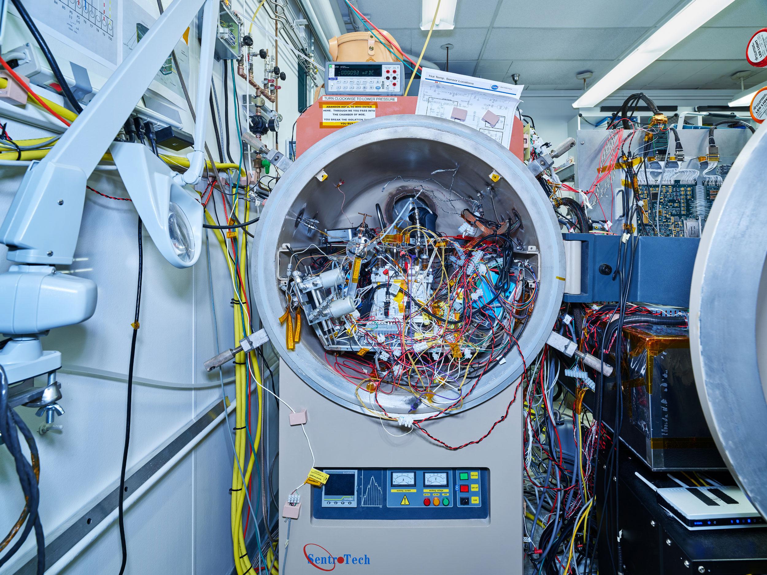 Mars Oxygen In-situ Resource Utilization Experiment, NASA/JPL, Pasadena, California, 2018
