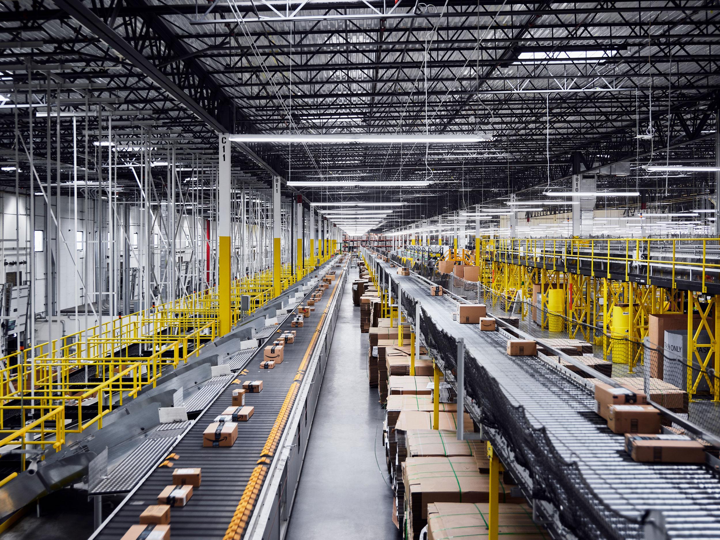 Amazon Fulfillment Center, Baltimore, Maryland, 2018