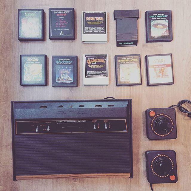 Ready to be framed 🕹🕹🕹🕹 #makers #makerssummit #framedtech #gaming #gadgetstore #art #atari2600