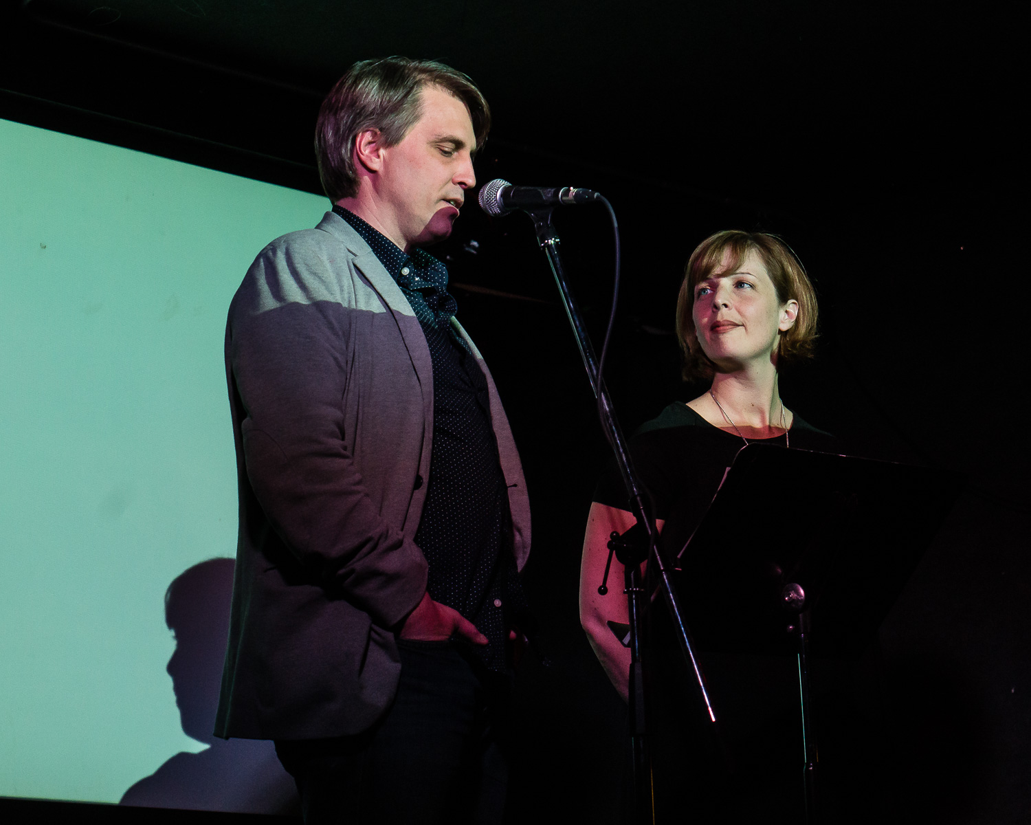 Jay MillAr and Hazel Millar, hosts and publishers