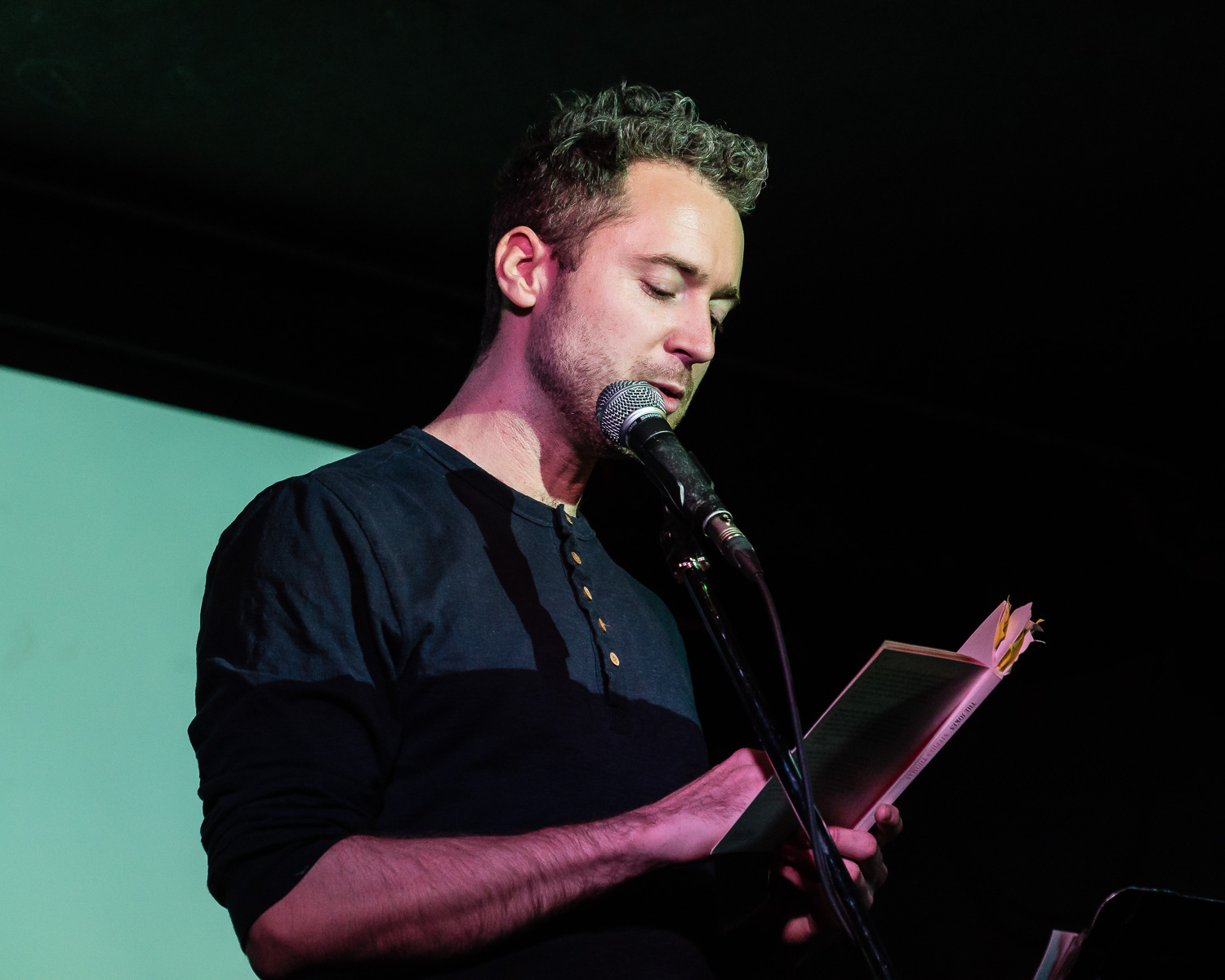 Stephen Thomas reading from The Jokes