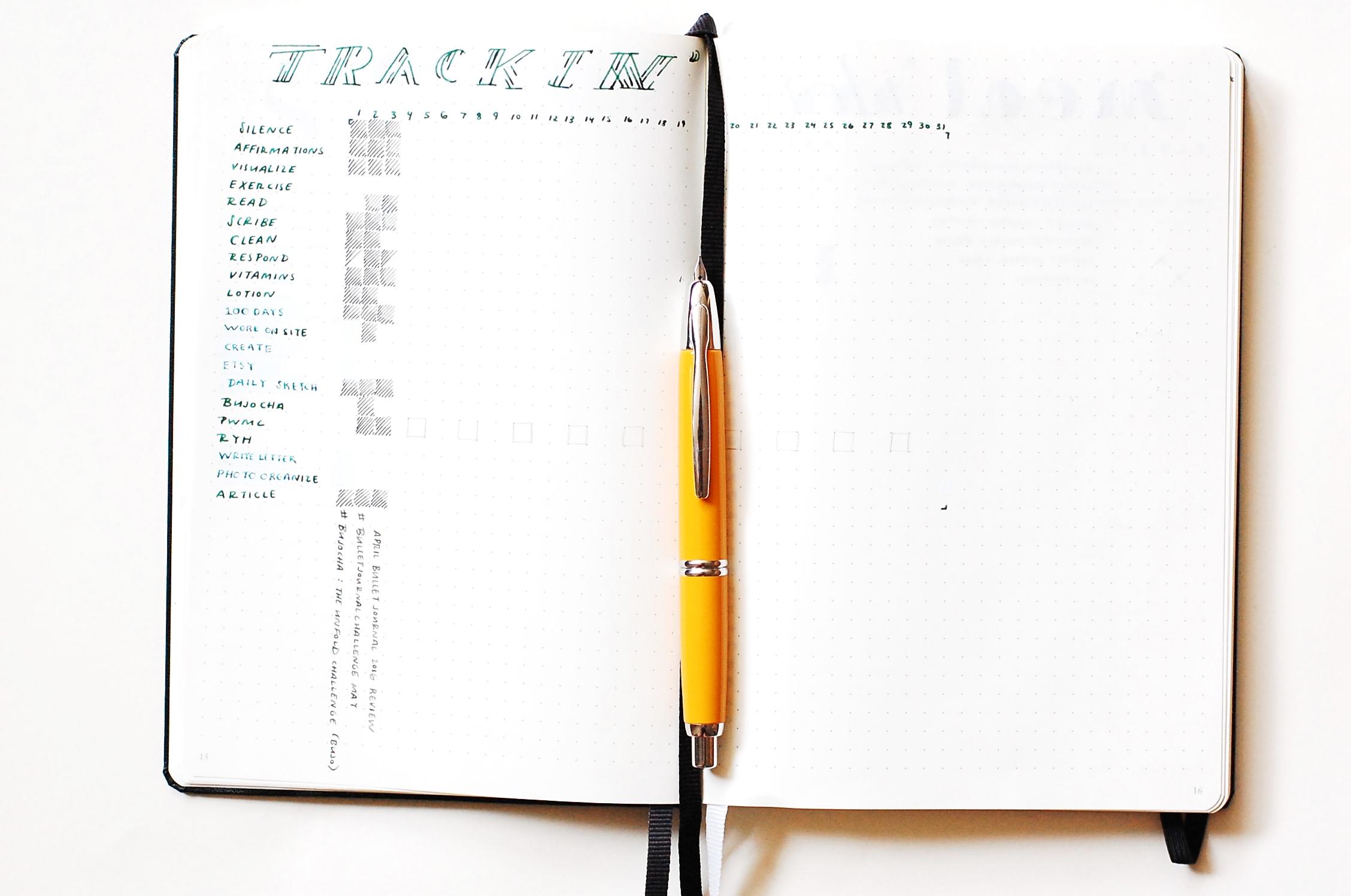 Tracking - Bullet Journal