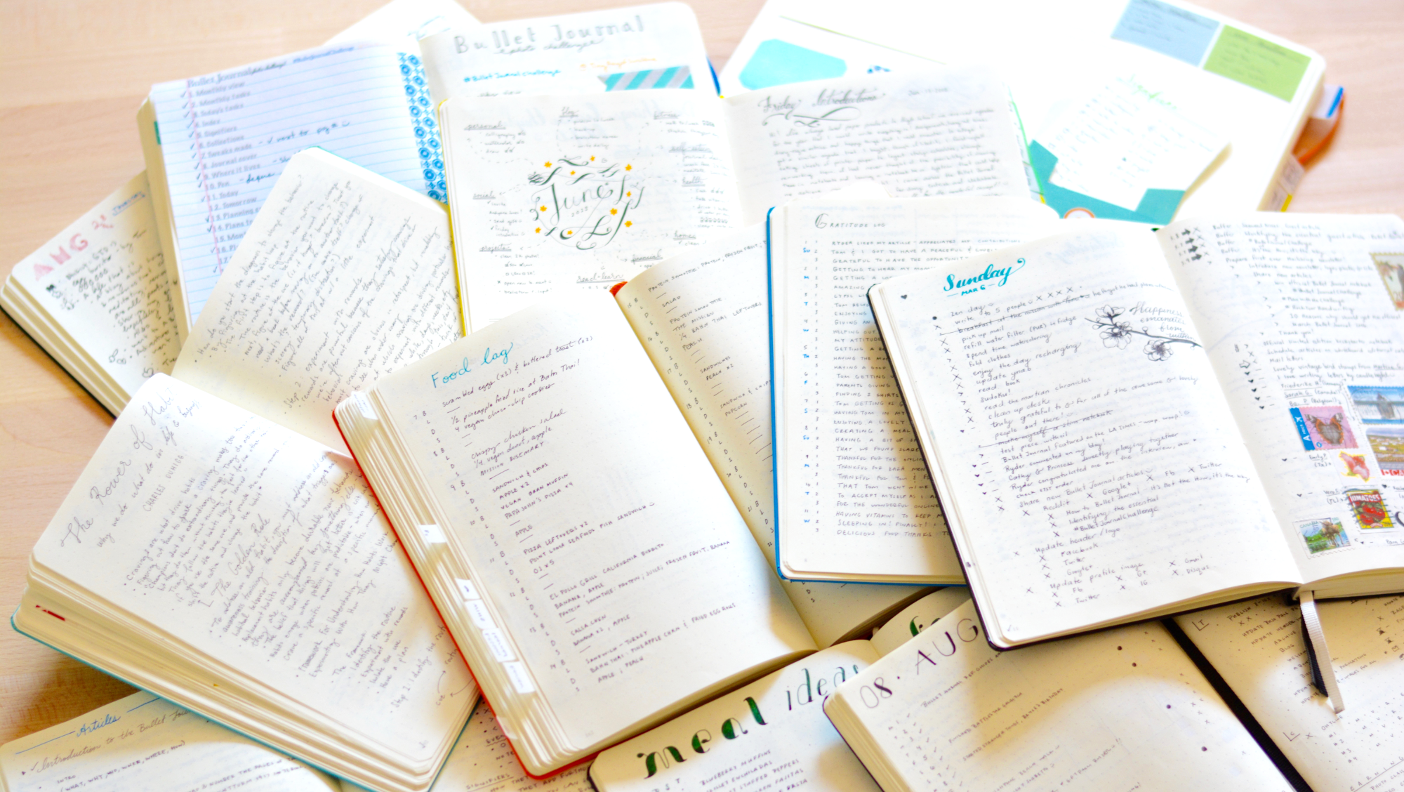 Thorough Guide to the Bullet Journal System \u2014 Tiny Ray of