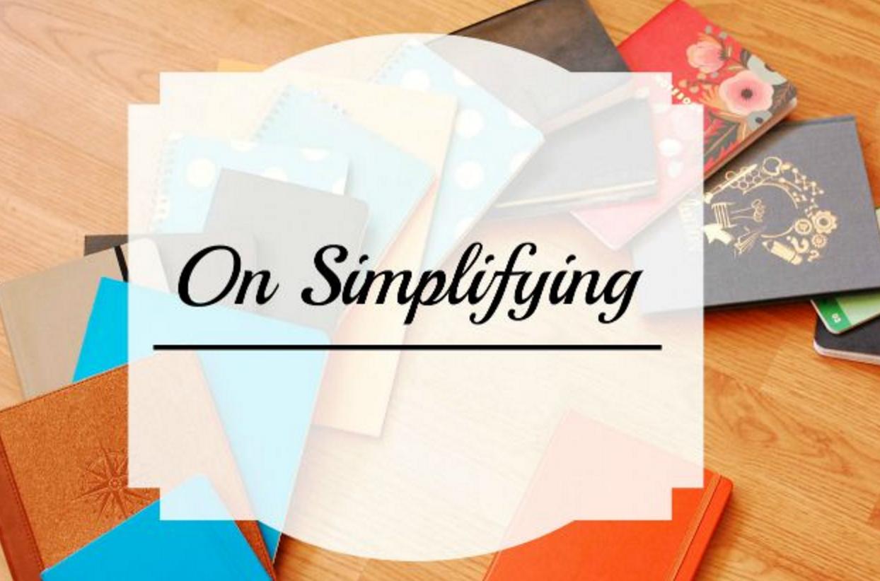 o n simplifying