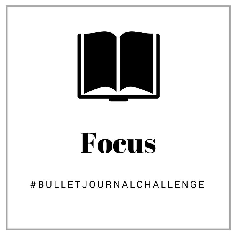 focus #bulletjournalchallenge