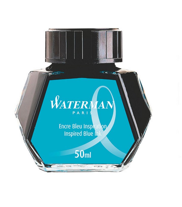 waterman - inspired blue