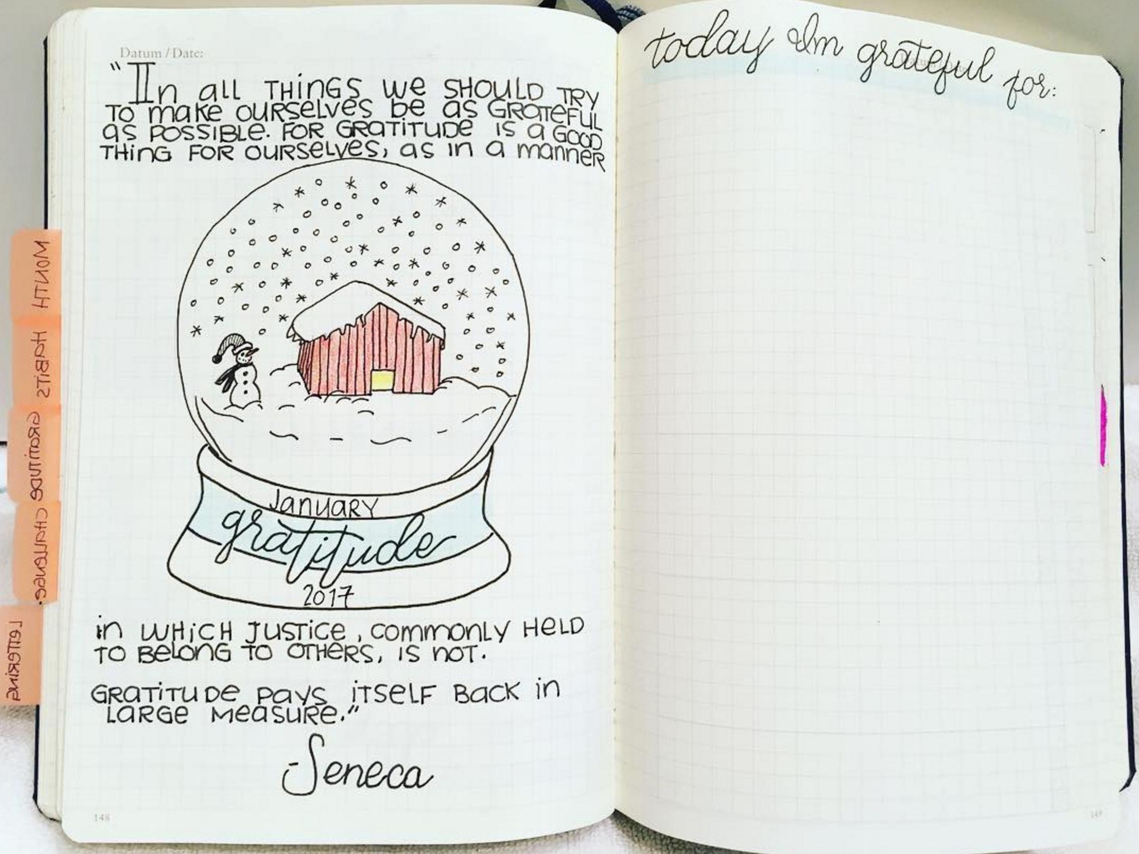 Gratitude globe by  @nosleepforyou . Will we start seeing more creative variations of the gratitude log?! :)
