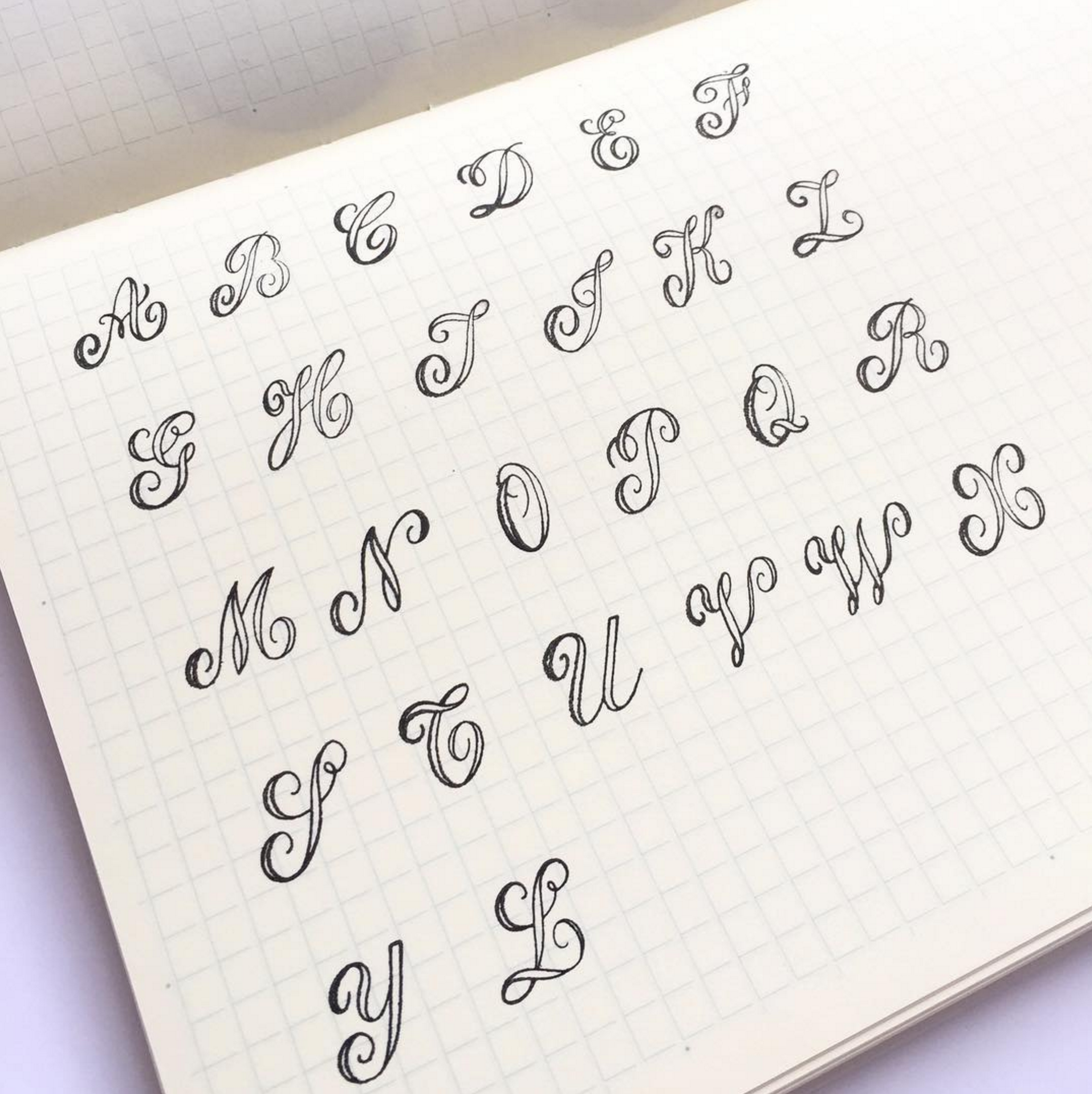 Beautiful letter form inspiration from  @sumthingsofmine