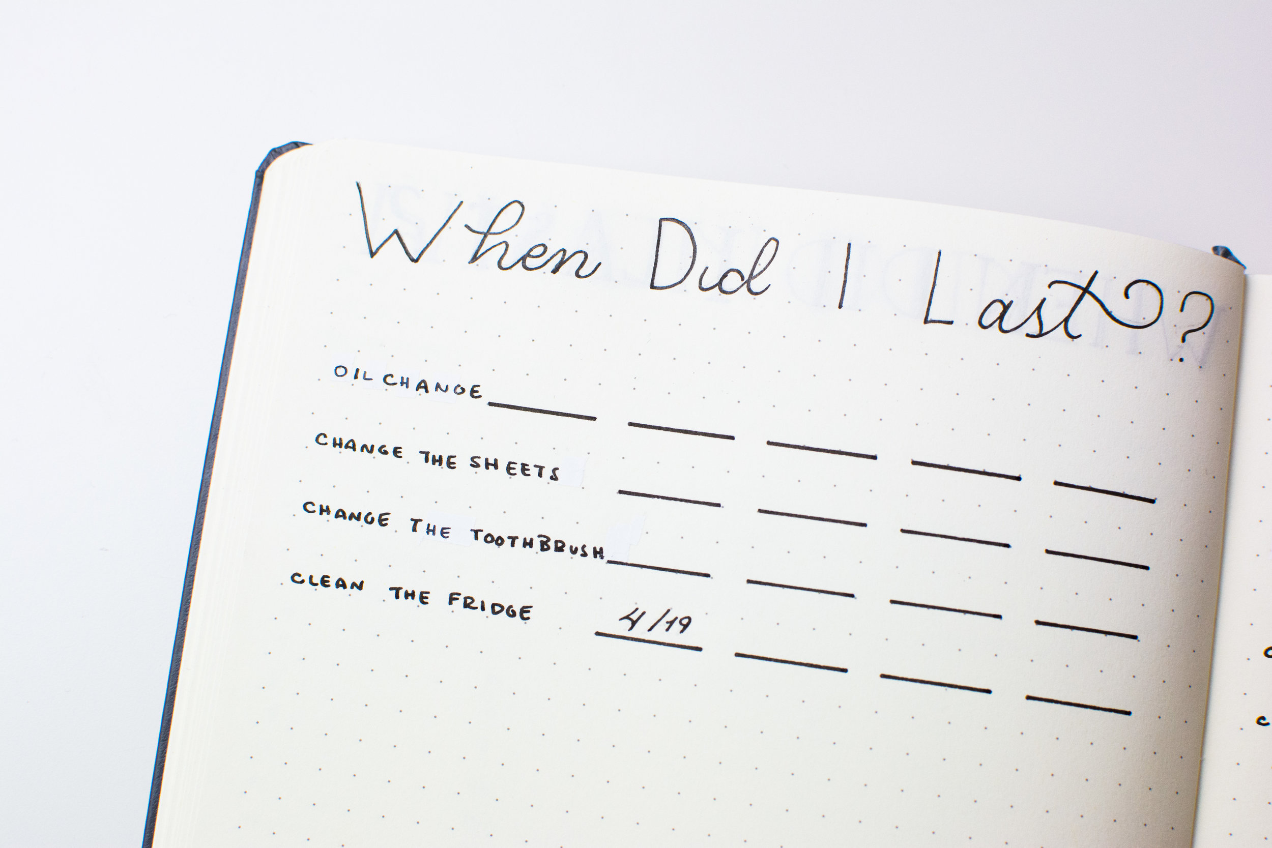 The When Did I Last Log will help you keep track of the last time you did something