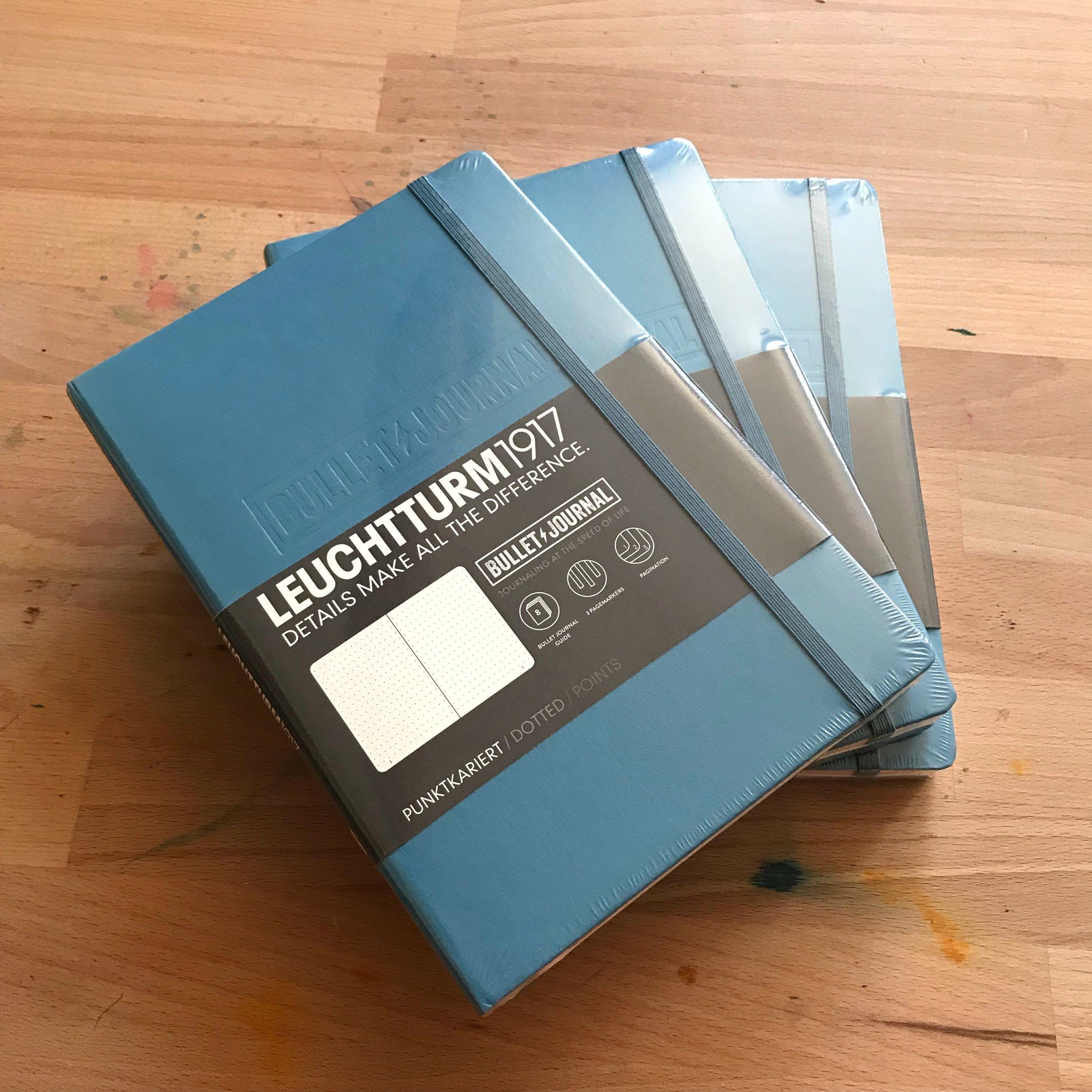 3 Nordic Blue Official Bullet Journals
