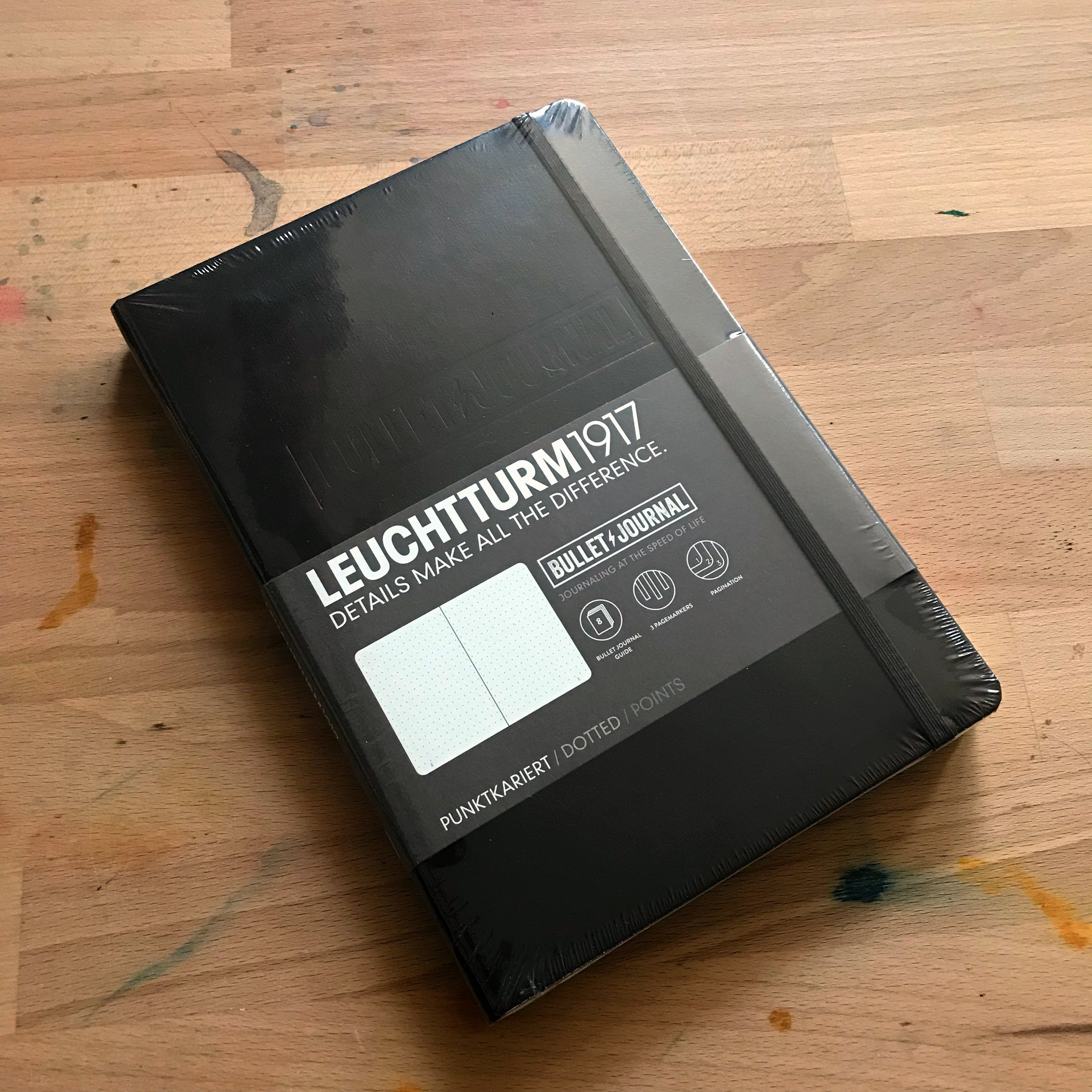 1 Classic Black Official Bullet Journal