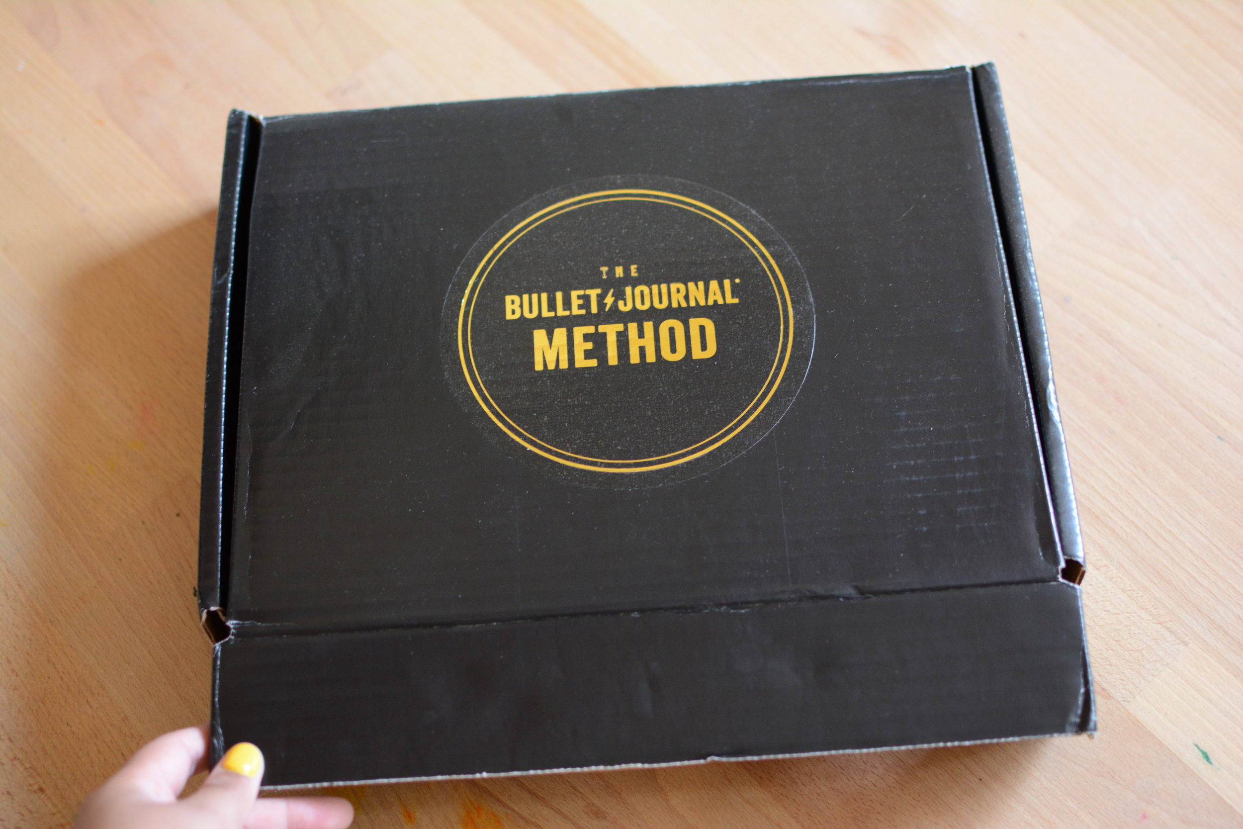 The Bullet Journal Method Book Review and Giveaway. Tiny Ray of Sunshine.2.JPG