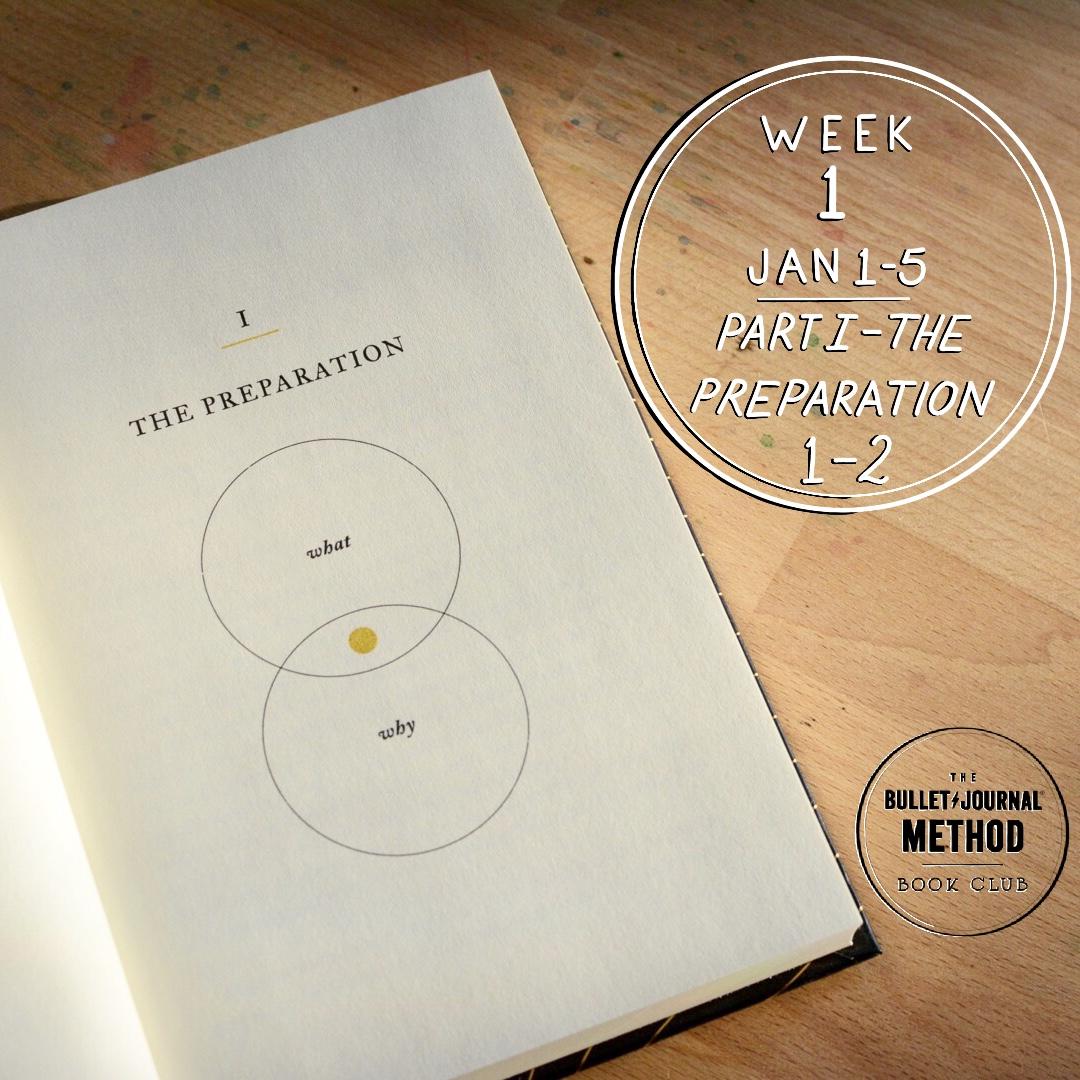 Week 1: The Preparation (The Bullet Journal Method Book Club)