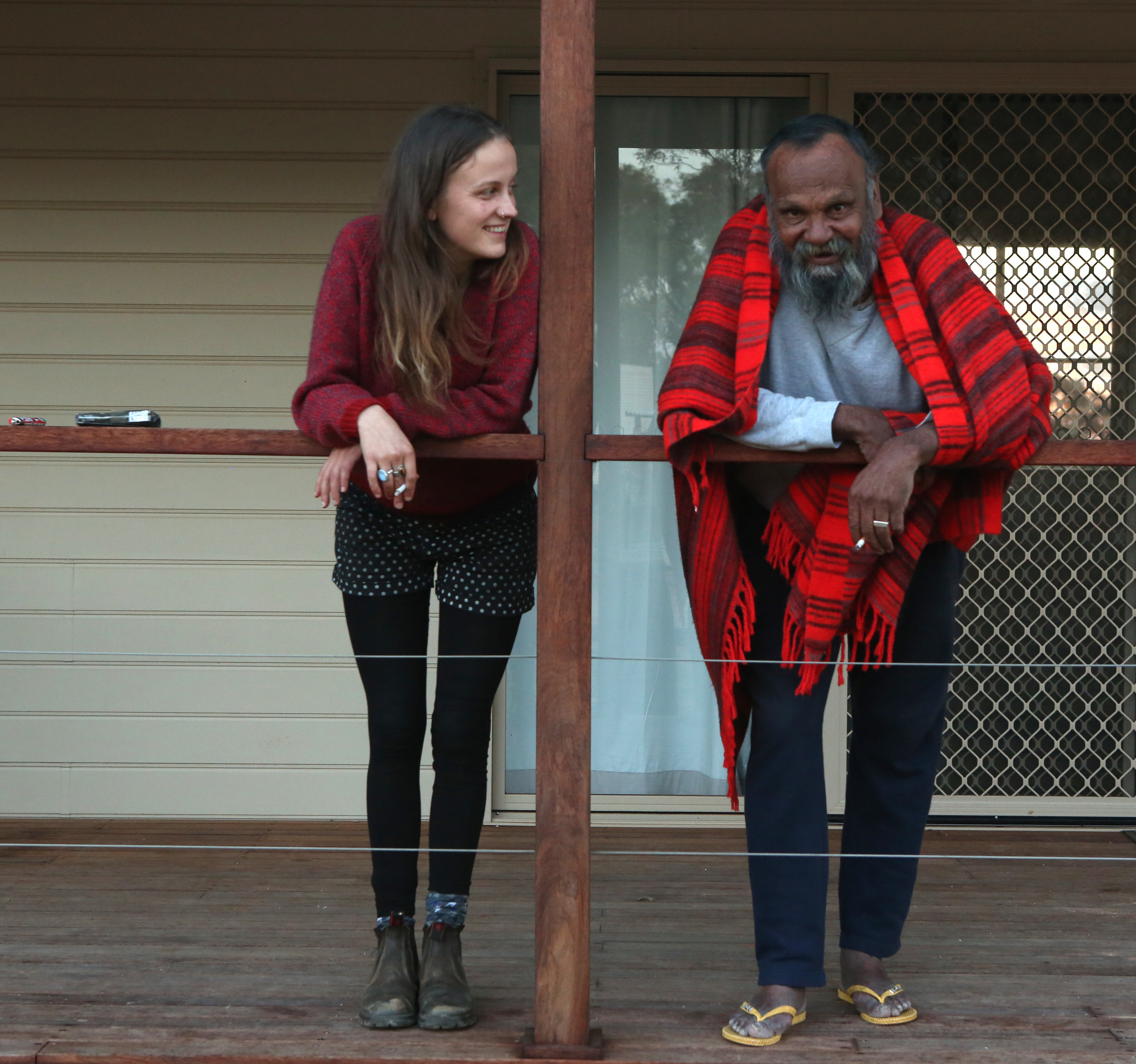 Ashleigh and Uncle Terry