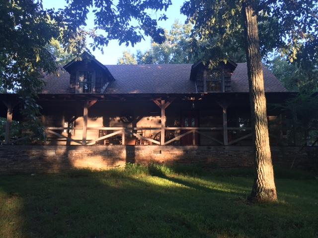 Log House at Day Break.JPG