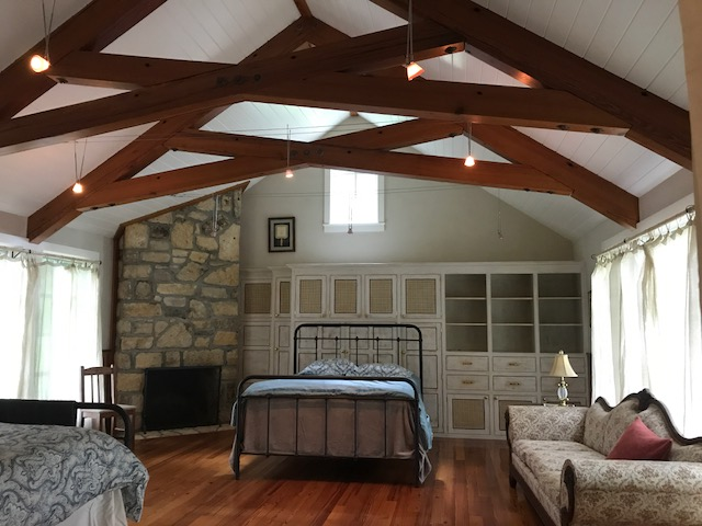 H #1 ceiling and haif of second bed.JPG